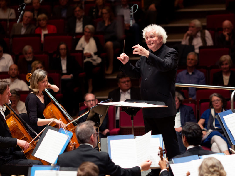 London Symphony Orchestra und Sir Simon Rattle © Astrid Ackermann