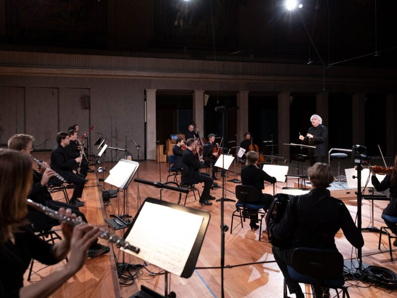 BRSO mit Sir Simon Rattle © Astrid Ackermann
